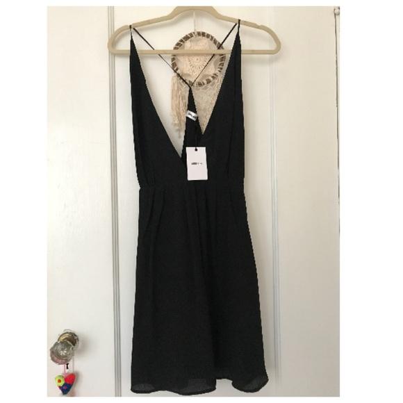 83c9701a174 Anine Bing Deep V Mini Dress. NWT